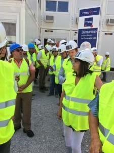 Visite chantier 2015